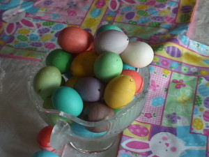 DIY Oeufs colorés naturellement