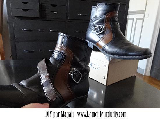 DIY customisation chaussure peinture angelus