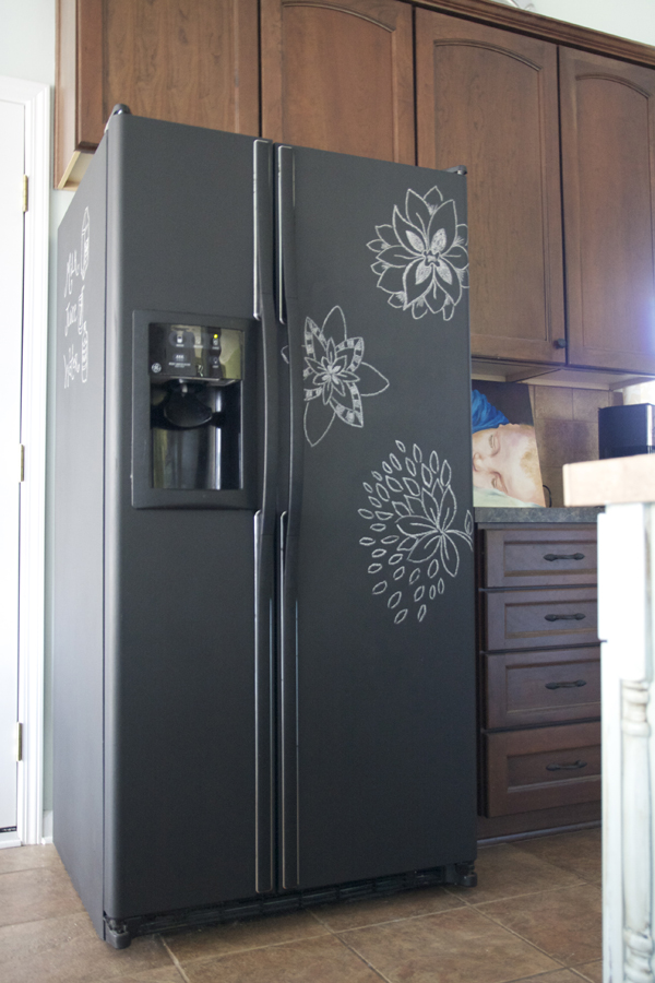 diy un frigo pas comme les autres. Black Bedroom Furniture Sets. Home Design Ideas