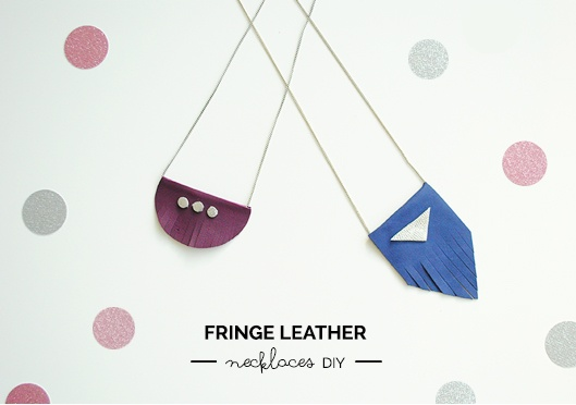DIY Collier en cuir