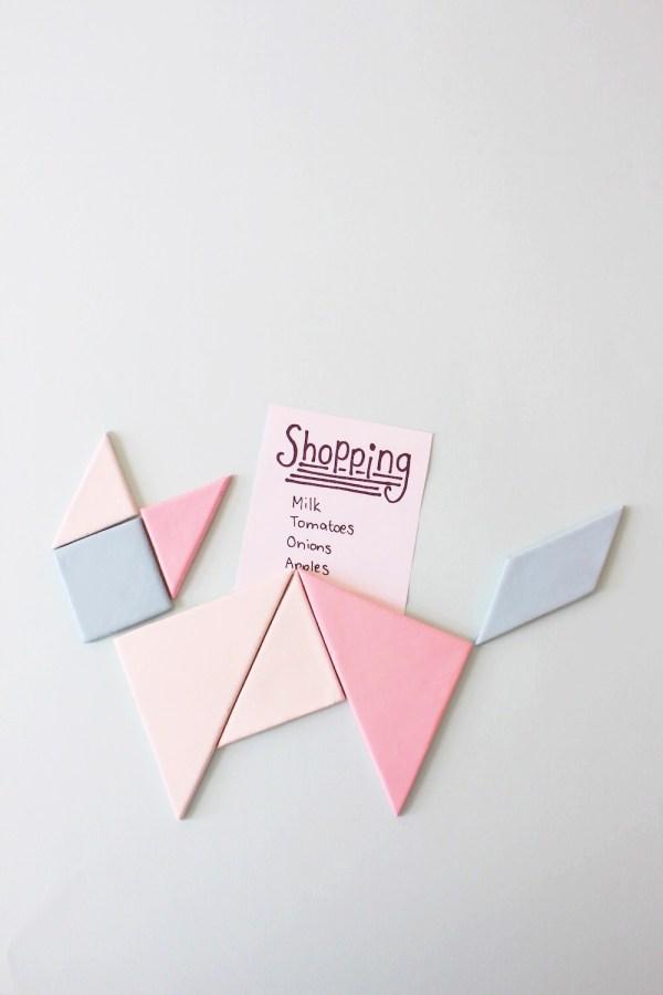 DIY Magnet tangram