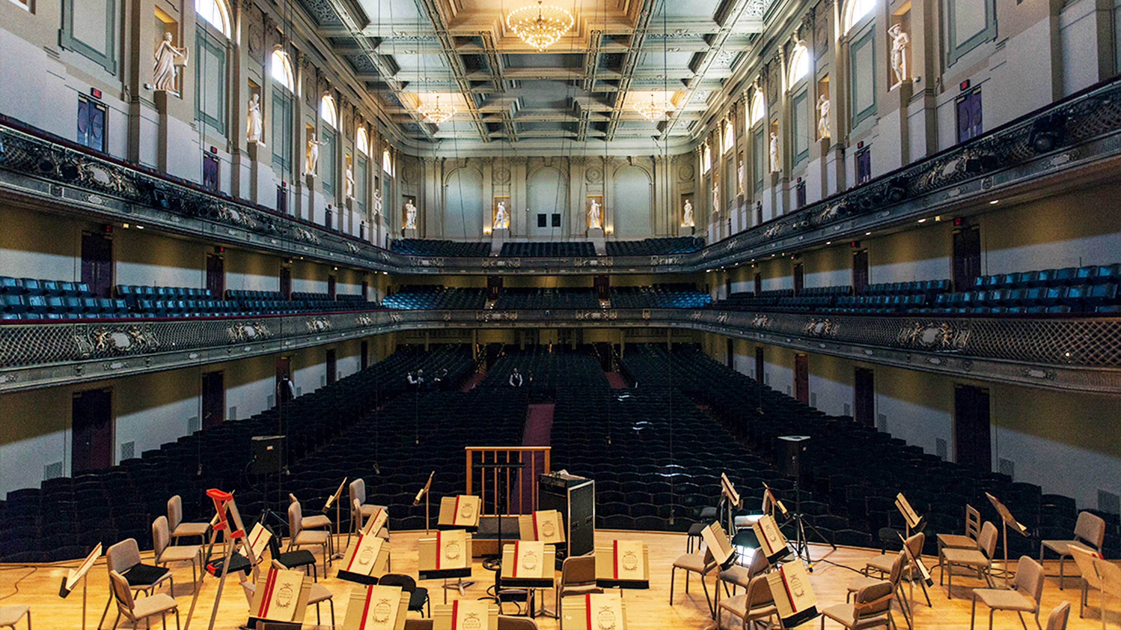 Boston Symphony Hall Renovations Lemessurier