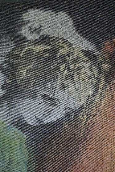 Detail, 2016, 178x73 cm