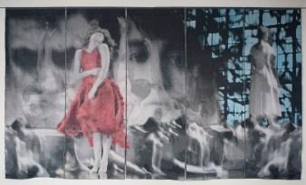 Tissage Jacquard, coton et lin, teinture, 12 000 $