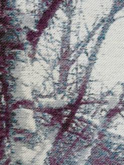 Tissage Jacquard, Fils métalliques, laine mérino et fils à coudre, 12 000 $