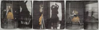 Tissage Jacquard, tencel, acier inoxydable, cuivre, lin, laine, teinture, 8 000 $