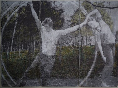 Un orteil dans le vide #2, 2011, 155x216 cm