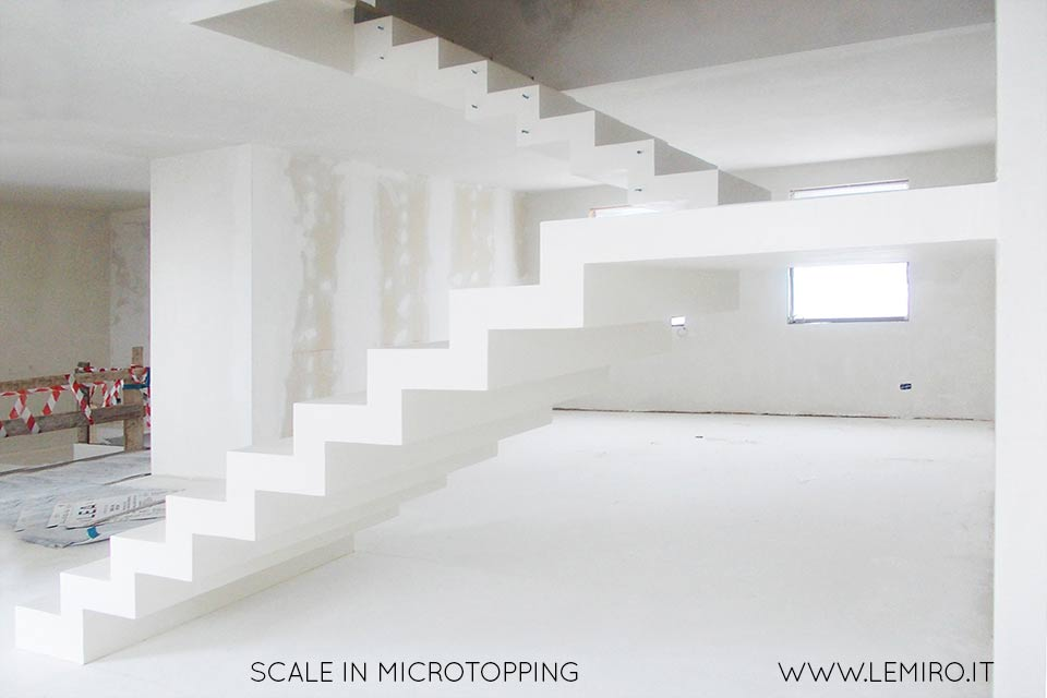 Progetti  Gallery superfici microcemento Microtopping