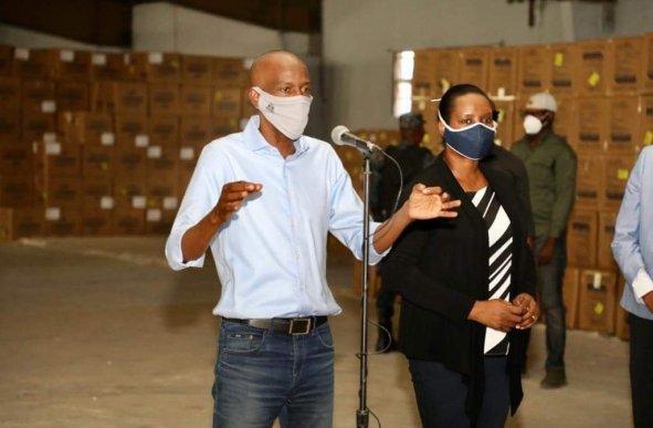 Haiti/Covid-19: Le nombre de personnes infectées est proche de 600