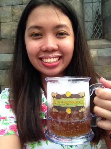my mustache and my butterbeer