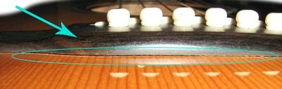 bridge gitar akustik