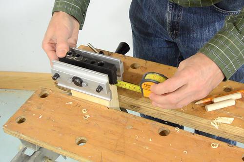 cara membuat meja kayu mudah 5