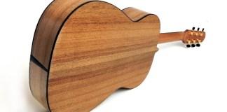 gitar kayu jati indonesia