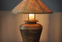 kap lampu bambu (2)