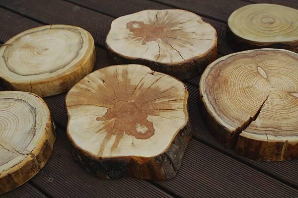 kayu yang digunakan