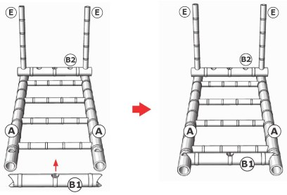 pembuatan ranjang bambu tutorial