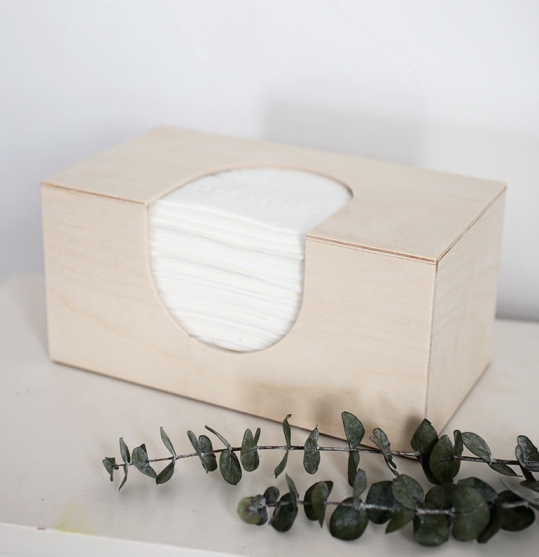 Langkah-langkah Membuat Kerajinan dari Kayu Kotak Tissue ...