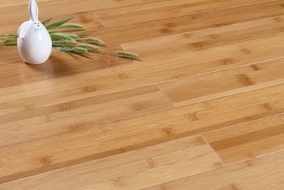 lantai bambu