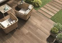 lantai kayu teras