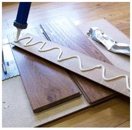 lem kayu untuk lantai
