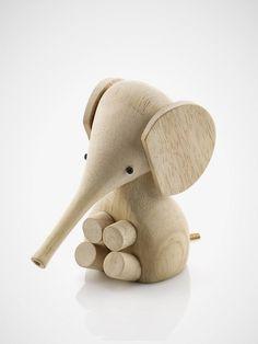 mainan kayu gajah