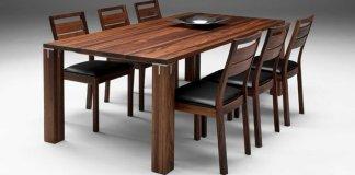 meja makan kayuy