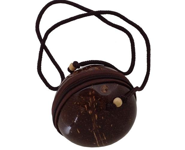 cara membuat tas dari batok kelapa