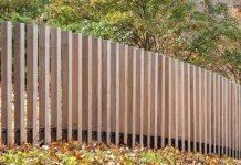 pagar kayu minimalis