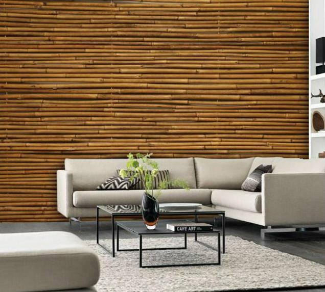 lantai bambu unik