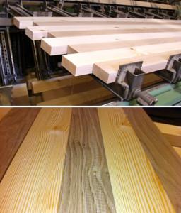 proses laminasi kayu