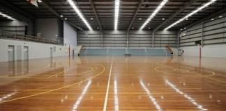 stadion lantai kayu