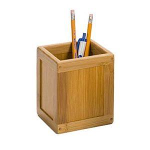tempat-pensil-bambu-kotak