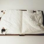 tempat tidur bentuk unik buku