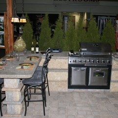Photos Of Outdoor Kitchens And Bars Kitchen Round Tables