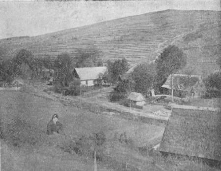 Вид на село Гирову к. Дуклі