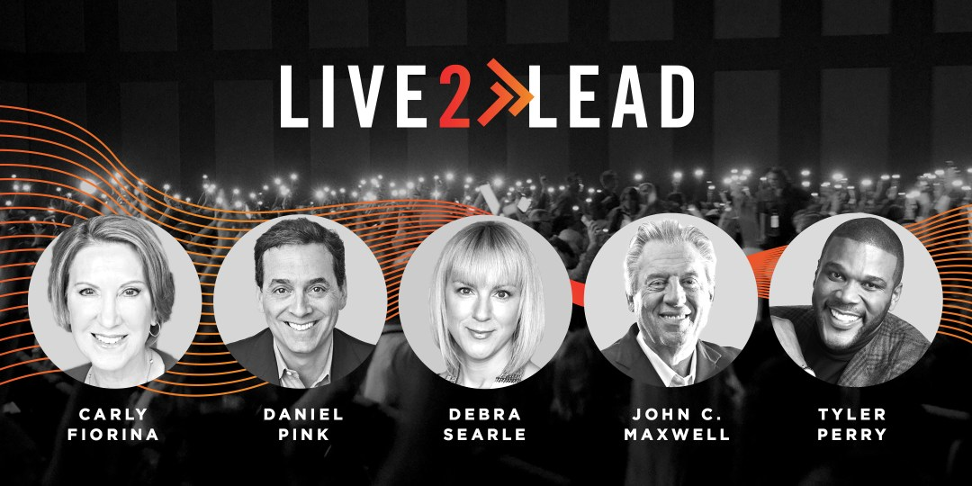 Live2Lead's 2018 speaker lineup.