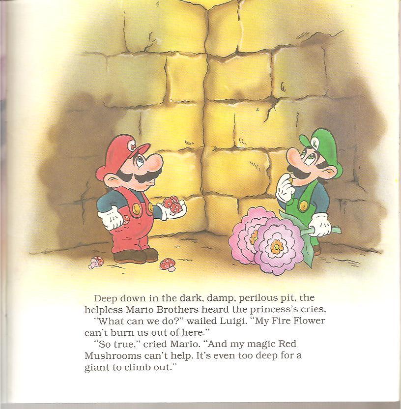 Super Mario Bros Trapped in the Perilous Pit