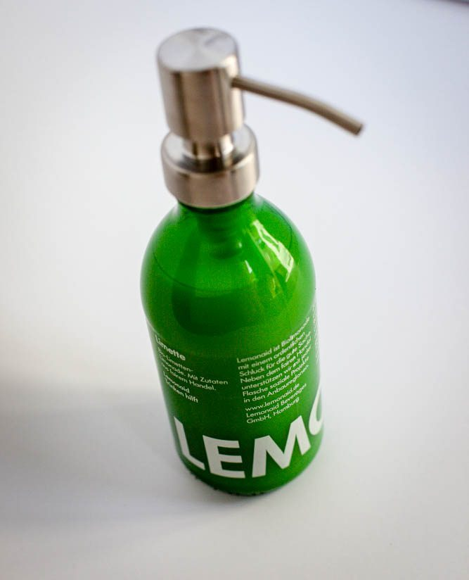 Upcycling grnweiss  Lemonaid
