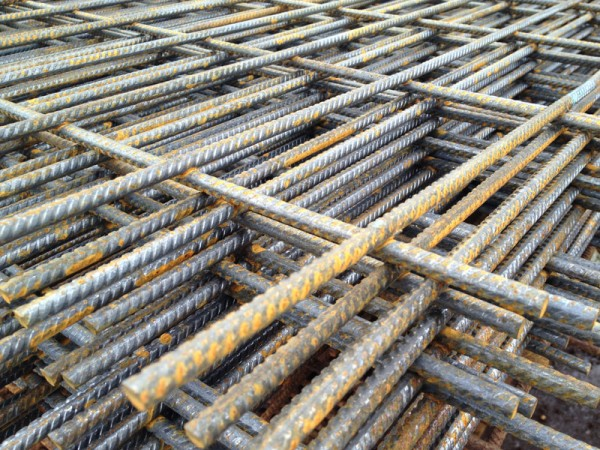 B503 Reinforcement Mesh 4800mm x 2400mm  Lemon
