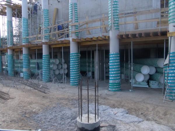 Rapidobat Column Formers  Lemon Groundwork Solutions Shop