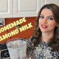 Cooking in Manhattan How to make almond milk