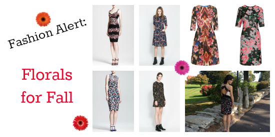Fashion Alert Fall Florals