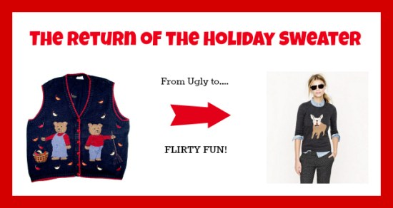How to Wear Holiday Animal Sweaters