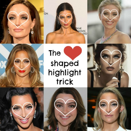 The Heart Shaped Highlight Trick
