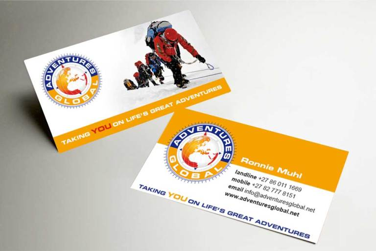 Adventures Global business card