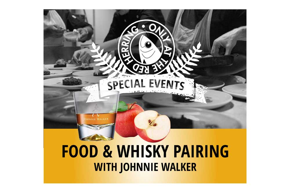 The Red Herring Food and Whiskey Facebook ad