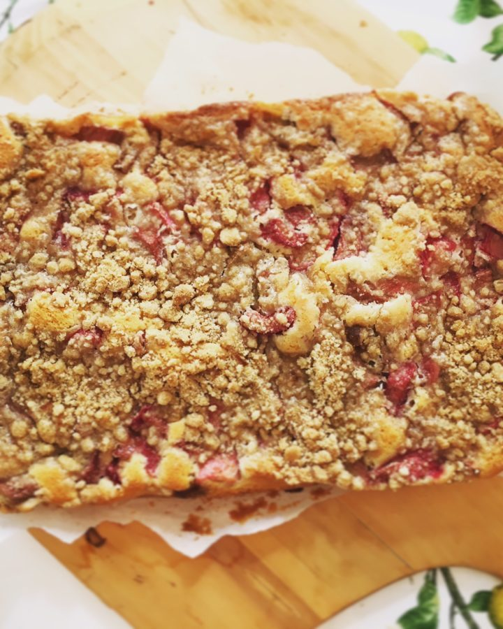 Anytime Rhubarb Cake for Any Occasion