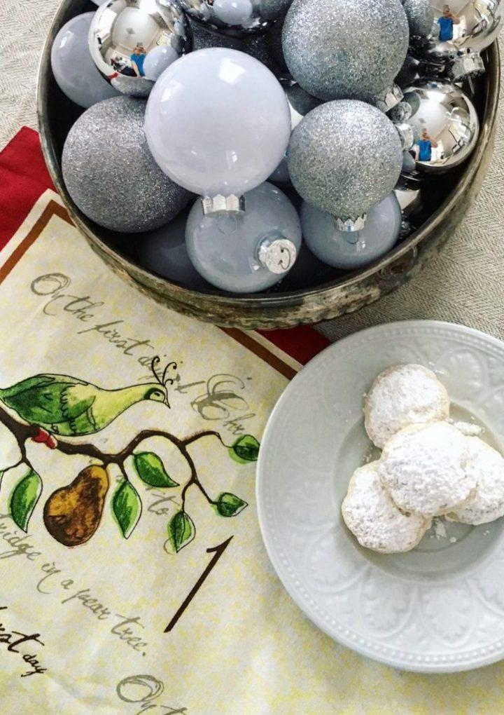 1st Day of Christmas: Meyer Lemon Snowball Cookies