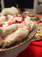 Christmas Meringue plate