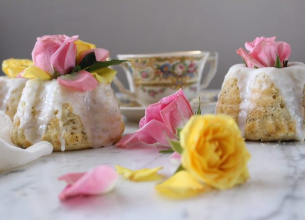 Earl Grey and Rose Mini Bundt